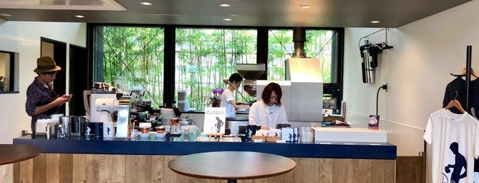 okaffe kyoto 嵐山 is one of สถานที่ที่ Chris ถูกใจ.