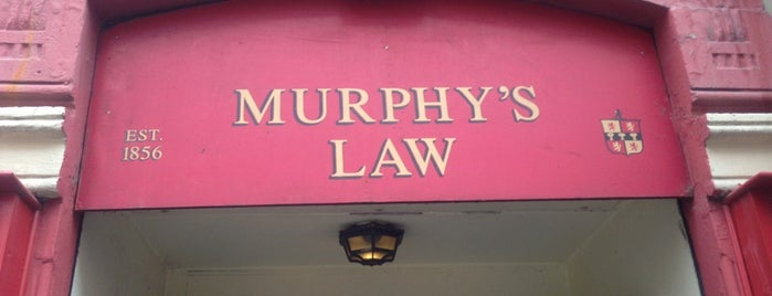 Murphy's Law is one of Milano.