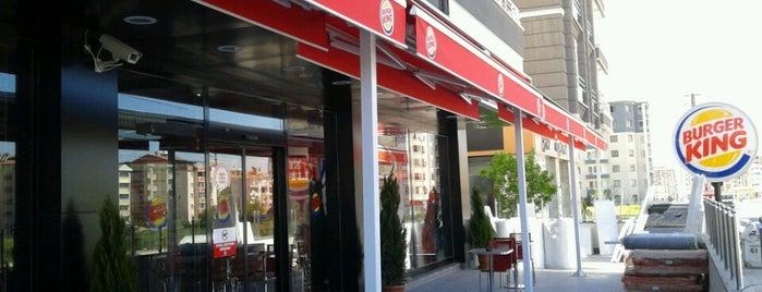 Burger King is one of Orte, die Aykut gefallen.