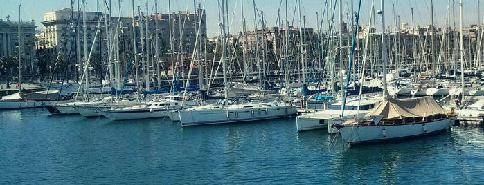 Port Vell is one of Barcelona.