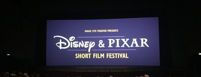 Disney & Pixar Short Film Festival (Magic Eye Theater) is one of Tempat yang Disukai Sarah.