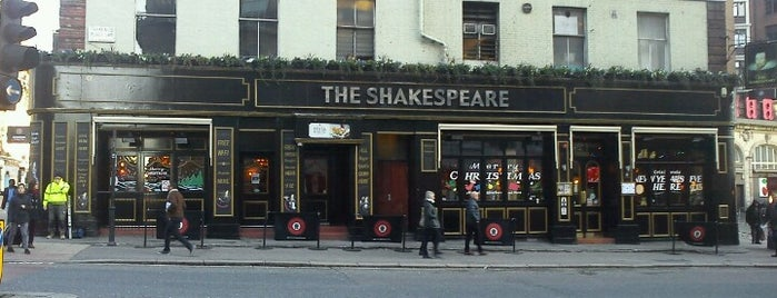 The Shakespeare is one of restaraunts.