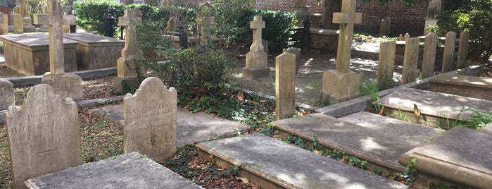 St. Philip's Church Graveyard is one of Paranormal Sights.