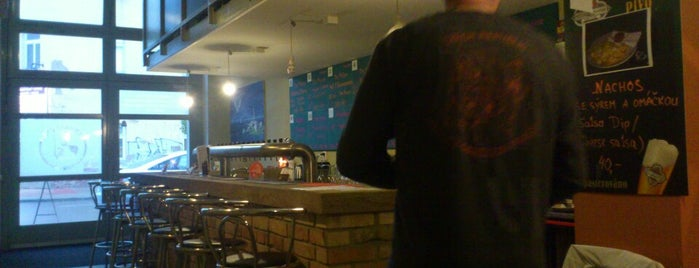 Zubatý Pes Beer Bar is one of Orte, die Vasily gefallen.
