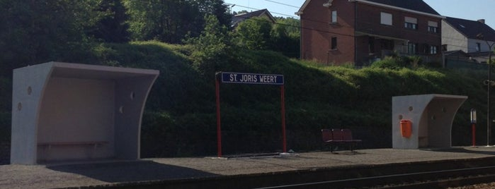 Station Sint-Joris-Weert is one of Marco's Liked Places.