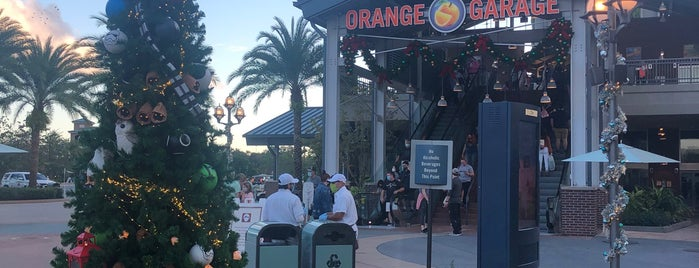 Orange Parking Garage is one of Disney Springs.