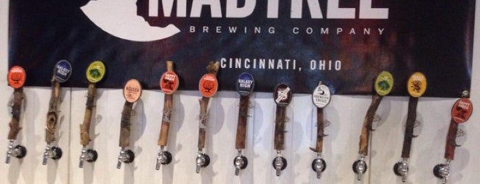MadTree Brewing is one of Cincinnati, OH.