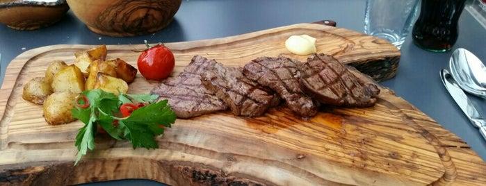 Hacı Steakhouse is one of Lugares guardados de Ibrahim.