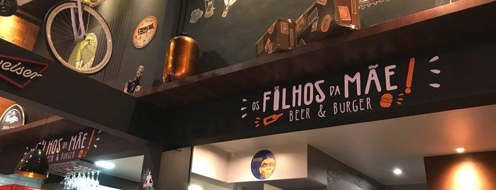 Os Filhos da Mãe! is one of Melhores Restaurantes e Bares do RJ.