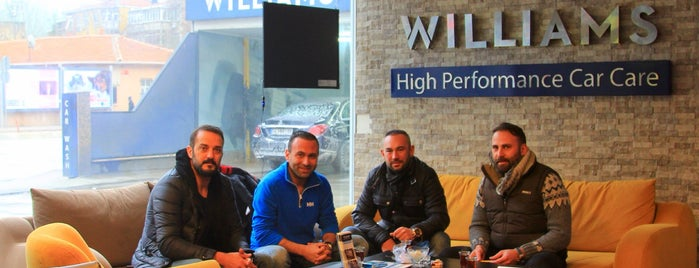 WILLIAMS High Performance Car Care is one of Filiz 님이 좋아한 장소.