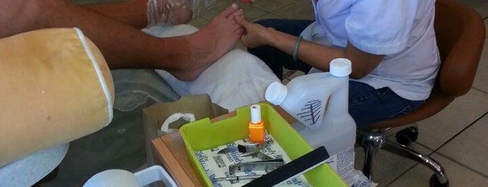 Angel Nails & Spa is one of Orte, die Rachel gefallen.