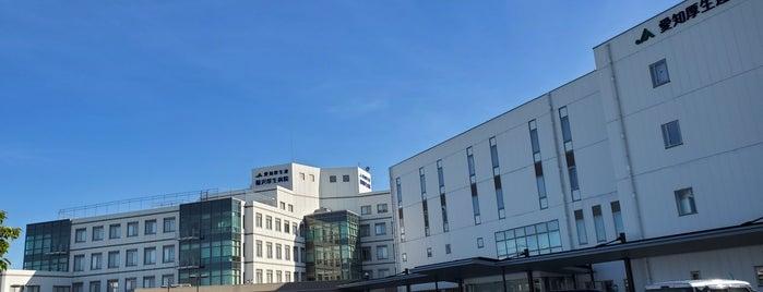 稲沢厚生病院 is one of 思い出の場所.