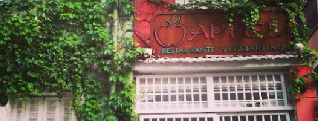 Apfel Restaurante Vegetariano is one of Lugares guardados de Thais.