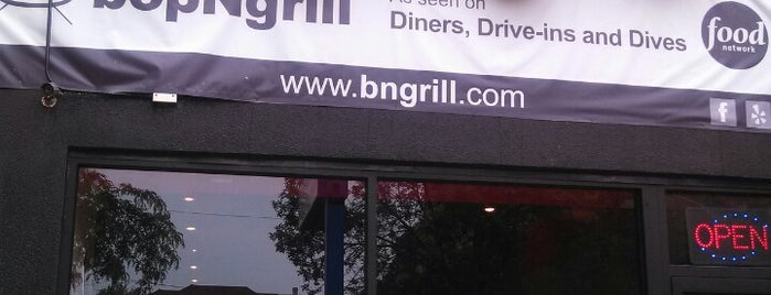 bopNgrill is one of Chicago Menulust.