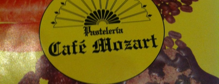 Cafe Mozart is one of DF.