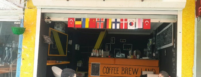 Coffee Brew Land is one of Orte, die Timuçin gefallen.