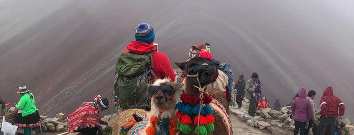 Rainbow Mountain is one of Lugares favoritos de Victor.