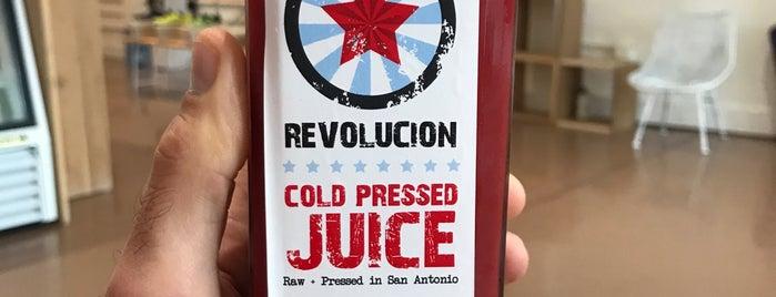 Revolucion Coffee + Juice is one of Texas Trip.