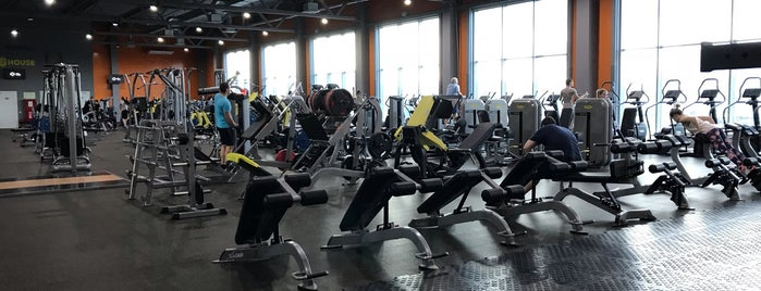 Fitness House is one of Сп.