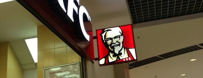KFC is one of Locais curtidos por Александр.