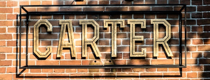 Carter Bar & Kitchen is one of Z☼nnige terrassen in Amsterdam❌❌❌.