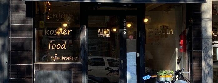 Ajim Deli is one of Restaurants.