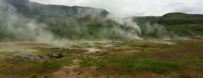 Stóri Geysir | Great Geysir is one of Erikさんのお気に入りスポット.