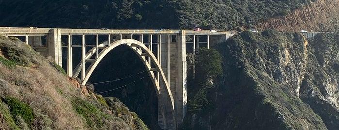 Bixby Bridge is one of Cali trip.