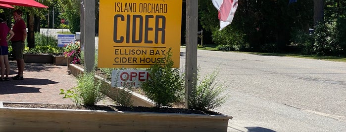 Island Orchard Cider is one of Door county.