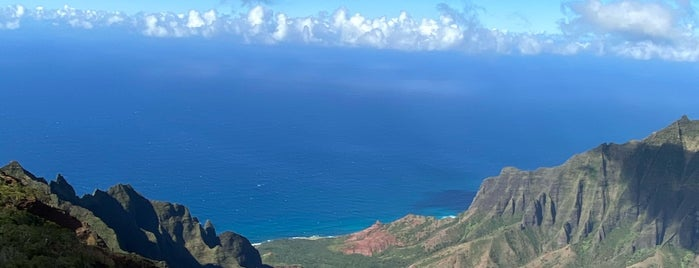 Kalalau Lookout is one of Kauai 🌸.