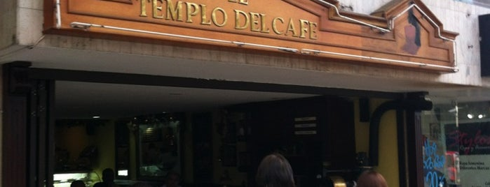 El Templo del Café is one of Lieux sauvegardés par Gonzalo.