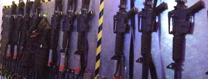 Lasergame Berlin - Hauptquartier is one of no food, no bars.