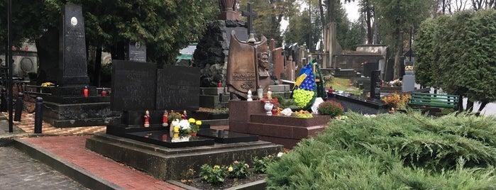 Личаківський цвинтар / Lychakiv Cemetery is one of Posti che sono piaciuti a Βεrκ.