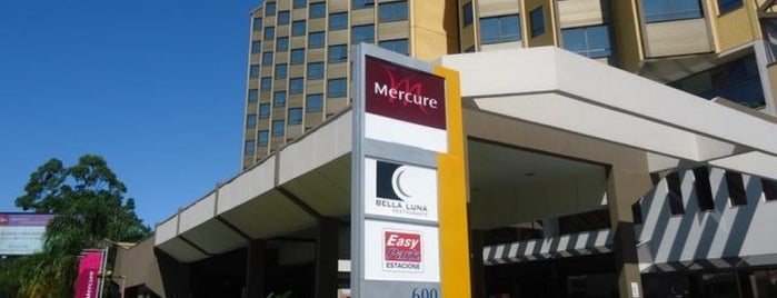 Mercure Florianópolis Convention is one of Lieux qui ont plu à Joao.