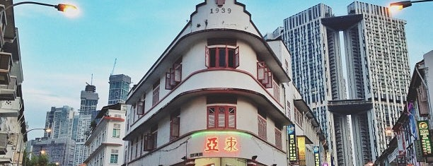 Tong Ah Eating House 东亞 is one of SG.