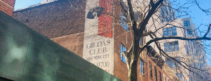 Gilda's Club New York City is one of NYC/Brooklyn Musts.
