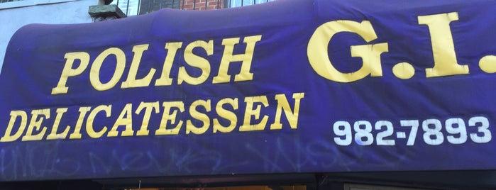 Polish G.I. Delicatessen is one of E New York.