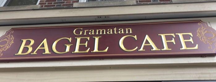 Gramatan Bagel Cafe is one of Tamara'nın Kaydettiği Mekanlar.