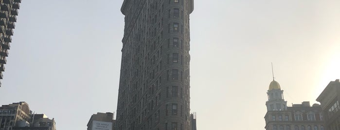 Flatiron Building is one of Sights in Manhattan.