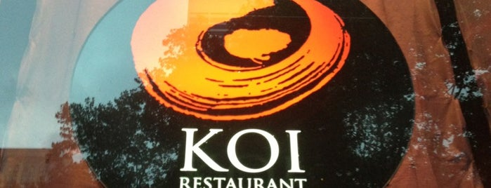 Koi New York is one of BOA Lunch Spots.