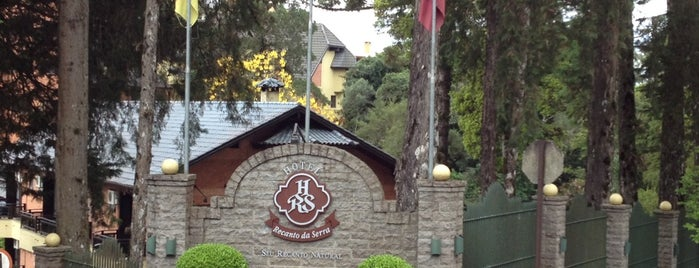 Hotel Recanto da Serra is one of Gramado RS.