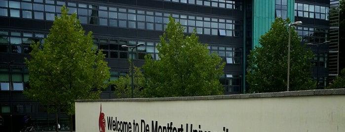 De Montfort University is one of Lugares favoritos de Joll.
