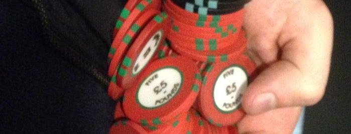 Grosvenor Casino is one of Tempat yang Disimpan Tom.