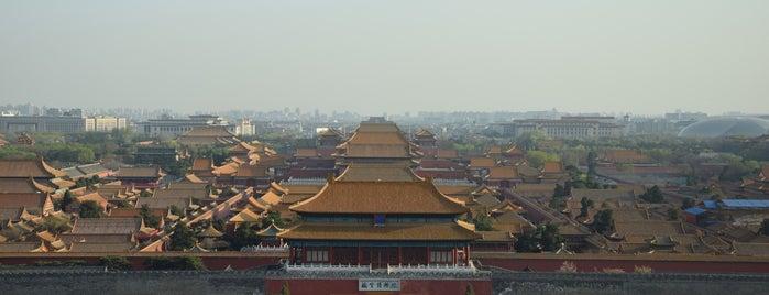 Jingshan Park is one of Tempat yang Disukai Keda.