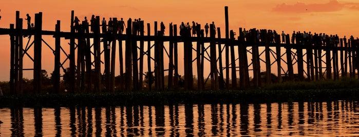 ဦးပိန် တံတား U Bein Bridge is one of Tempat yang Disukai Keda.
