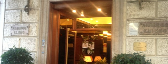 Hotel Eliseo is one of Rome.
