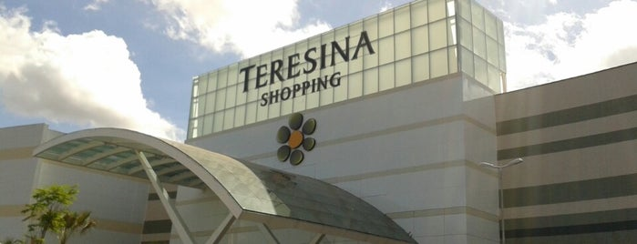 Teresina Shopping is one of Locais curtidos por Lourenco.