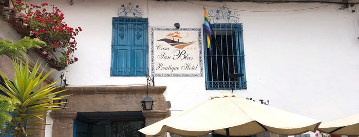 Casa San Blas Boutique Hotel is one of Best in Peru.