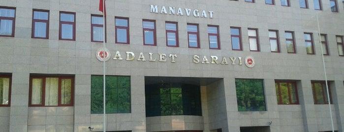 Manavgat Adalet Sarayı is one of Orte, die Banu gefallen.