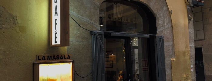La Masala Cafe is one of Happy Barcelona.